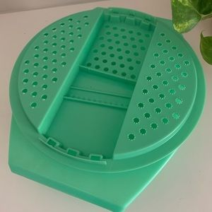 Vintage Green Tupperware Cheese Grater